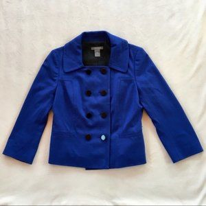 Ann Taylor Cobalt Blue Blazer Size 6
